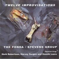 Twelve Improvisations - CD coverart