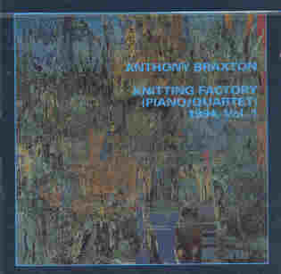 Knitting Factory (piano / Quartet) 1994, Vol.1